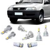 Kit-Lampadas-Super-Led-HeadLight-6000k-com-reator-Volkswagen-Gol-Parati-Saveiro-G3-1999-2000-2001-2002-2003-2004-2005-com-Lampada-Pingo