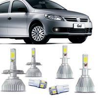 Kit-Lampadas-Super-Led-HeadLight-6000k-com-reator-Volkswagen-Gol-2006-2007-2008-2009-2010-2011-2012-2013-2014-Parati-Saveiro-G4-com-Lampada-Pingo
