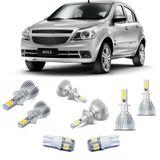 Kit-Lampadas-Super-Led-HeadLight-6000k-com-reator-Chevrolet-Agile-2009-2010-2011-2012-2013-2014-Montana-com-Lampada-Pingo