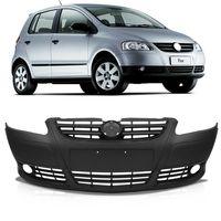 Parachoque-Dianteiro-Original-Volkswagen-Fox-2008-2009-2010-Spacefox-Liso-com-Furo-para-Milha