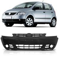 Para-choque-Dianteiro-Original-Volkswagen-Fox-2003-A-2007-Spacefox-Liso-Com-Furo