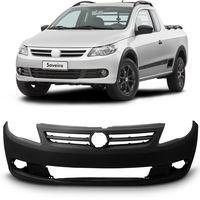 Para-choque-Dianteiro-Original-Volkswagen-Saveiro-G5-2010-2011-2012-2013-Poroso-com-Furo-para-Alargador