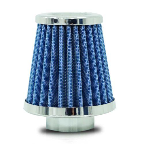 Filtro-de-Ar-Esportivo-Conico-Tecido-Azul