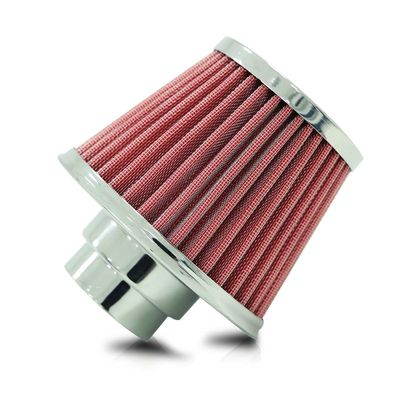 Filtro-de-Ar-Esportivo-Performance-Duplo-fluxo-de-Ar-Vermelho