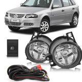 Kit-Farol-de-Milha-Auxiliar-Volkswagen-Gol-Parati-Saveiro-G4-2006-2007-2008-2009-2010-2011-2012-2013-2014-Botao-Modelo-Original
