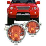 Lanterna-do-Pisca-Mitsubishi-L200-2001-2002-2003-2004-Cristal-com-Cupula-Ambar