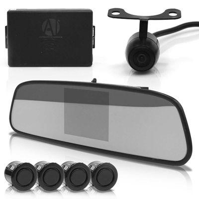 Sensor-de-Estacionamento-4-Pontos-com-Retrovisor-Interno-e-Camera-de-Re