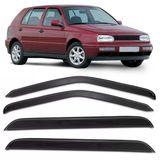 Jogo-Calha-de-Chuva-Golf-Alemao-1995-1996-1997-1998-Mexicano-Defletor-4portas