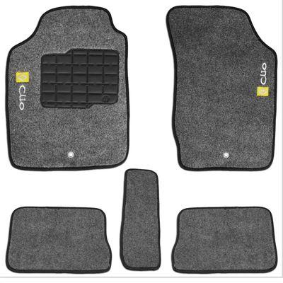 Tapete-Carpete-Personalizado-Grafite-Clio-1996-a-2012-Logo-Renault-Bordado-2-Lados-Dianteiro