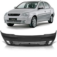 Para-choque-Dianteiro-Chevrolet-Corsa-Montana-Sport-2003-2004-2005-2006-Liso-com-Furo