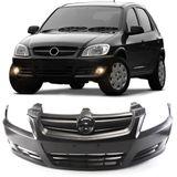 Parachoque-Dianteiro-Chevrolet-Celta-Prisma-2007-2008-2009-2010-2011-Liso-sem-Furo-para-Milha