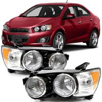 Farol-Chevrolet-Sonic-2012-2013-2014-Mascara-Cromado