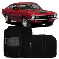 Tapete-carpete-Maverick-preto-1973-1974-1975-1976-1977-1978-1979-bordado-2-lados-dianteiro