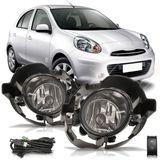 Kit-Farol-de-Milha-Auxiliar-Nissan-March-2011-2012-2013-2014