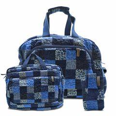 Jogo-Mala-Com-Rodinha---Notebook---Celular-Travel-Set-Rosemary-em-Patchwork-Original