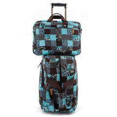 Jogo-Malas-Travel-Set-Ivy-Com-Rodas---Capa-Para-Notebook-E-Celular-em-Patchwork-Original
