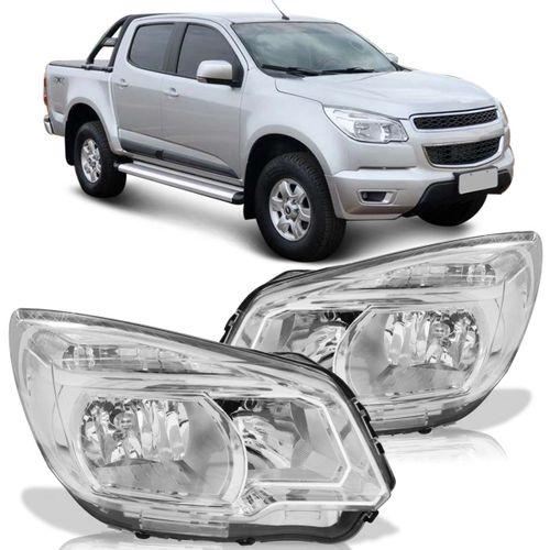 Farol-Chevrolet-S10-2012-2013-2014-2015-Mascara-Cromada-