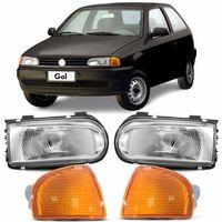 Combo-Gol-1995-a-1999-Parati-Saveiro-G2-Special-Foco-Simples-G2---Pisca-Seta-Ambar-Encaixe-Cibie