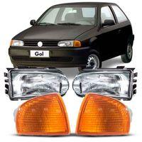 Combo-Gol-1995-a-1999-Parati-Saveiro-G2-Special-Foco-Simples-G2---Pisca-Seta-Ambar-Encaixe-Arteb