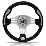Volante-Esportivo-Automotive-Imports-Naja-Prata-320mm
