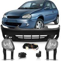 Parachoque-Dianteiro---Kit-Farol-de-Milha-Botao-Original-Corsa-2000-2001-2002-Corsa-Classic-2003-2004-2005-2006-2007-2008-2009-2010-Corsa-Pickup