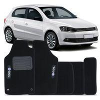 Tapete-Carpete-Preto-Volkswagen-Gol-G6-2012-2013-2014-2015-2016-Etiqueta-Vulcanizada-2-Lados-Dianteiro