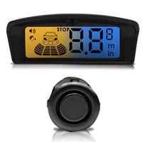 Sensor-de-Estacionamento-4-Pontos-Preto-ou-Prata-Display-LCD-Visor-Flex-Ambar-Azul