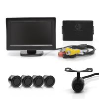 Sensor-de-Estacionamento-4-Pontos-Preto-Display-LCD-4.3-e-Camera-de-Re