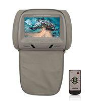 """Encosto-de-Cabeca-para-DVD-Player-com-Tela-de-7""""-LCD-e-controle-Remoto"""