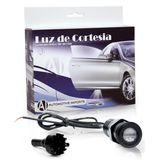 Luz-De-Cortesia-e-Projetor-de-Logomarca-Nissan-Azul-ou-Vermelho