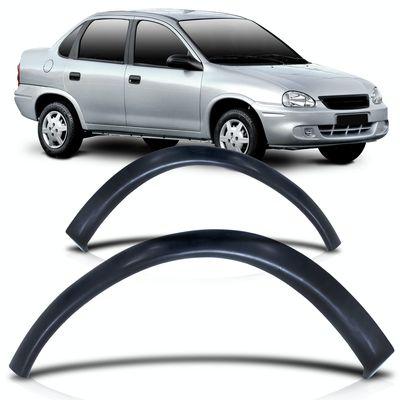 Alargador-Moldura-do-Paralama-Dianteiro-Chevrolet-Corsa-Hatch-Sedan-Classic-G1-2000-2001-2002-2003-2004-2005-2006-2007-2008-2009-2010