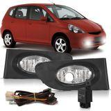 Kit-Farol-de-Milha-Auxiliar-Honda-Fit-2003-2004-2005-2006-Botao-Modelo-Universal