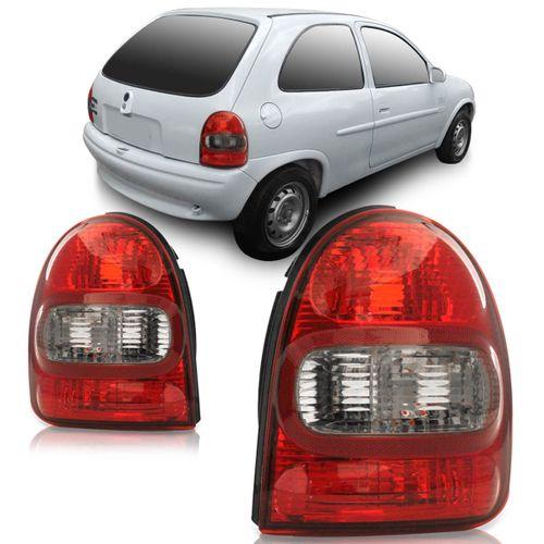 Lanterna-Traseira-Corsa-Hatch-2000-2001-2002-Fume-Bolha-