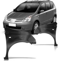 Paralama-Nissan-Livina-2009-2010-2011-2012-2013-2014-com-Furo-para-Pisca