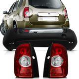 Kit-Renault-Duster-2012-2013-2014-Parachoque-Traseiro---Par-Lanterna-Traseira-Bicolor