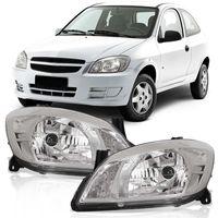 Farol-Chevrolet-Celta-2007-2008-2009-2010-2011-2012-2013-2014-2015-Prisma-Mascara-Cromada