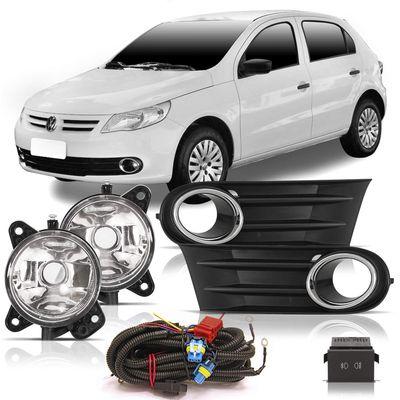 Kit-Farol-de-Milha-Auxiliar-Volkswagen-Gol-Voyage-Saveiro-G5-2008-2009-2010-2011-2012-Botao-Original-