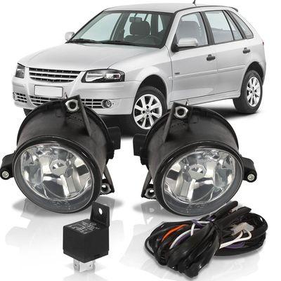 Kit-Farol-de-Milha-Auxiliar-Volkswagen-Gol-2003-2004-2005-2006-2007-2008-2009-2010-2011-2012-2013-2014-Parati-Saveiro-G4-Polo-Fox-Spacefox-Crossfox-