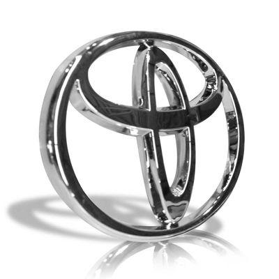 Grade-Dianteira-Hilux-Pickup-Sr-Srv-2009-A-2011-Serve-2005-A-2008-Cinza-com-Moldura-Cromada---Emblema-