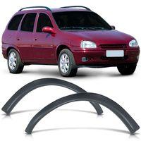 Alargador-Moldura-do-Para-lama-Dianteiro-Chevrolet-Corsa-Wagon-1994-1995-1996-1997-1998-1999-Preto-Poroso-