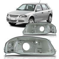 Carcaca-de-Farol-Principal-Volkswagen-Gol-G4-2006-2007-2008-2009-2010-2011-2012-2013-2014-Parati-Saveiro-Foco-Simples-