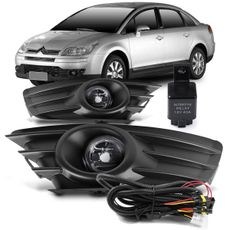 Kit-Farol-de-Milha-Auxiliar-C4-Hatch-2008-2009-2010-2011-2012-2013-2014-Pallas-com-Moldura-Botao-Modelo-Universal-