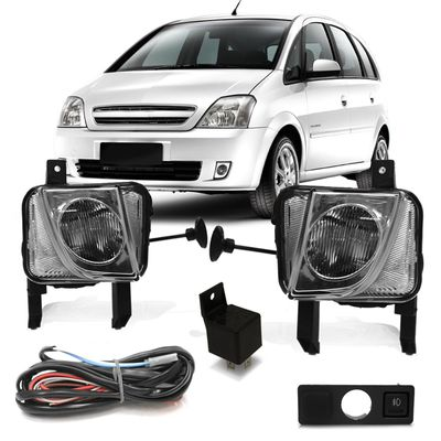 Kit-Farol-de-Milha-Auxiliar-Chevrolet-Corsa-2002-2003-2004-2005-2006-2007-2008-2009-2010-2011-Montana-Meriva-Botao-Modelo-Original-com-Moldura