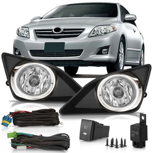 Kit-Farol-de-Milha-Auxiliar-Toyota-Corolla-2009-2010-2011-Botao-Modelo-Original