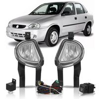 Kit-Farol-de-Milha-Auxiliar-Corsa-Pick-Up-Corsa-2000-a-2002-Classic-2003-a-2010-Botao-Modelo-Original