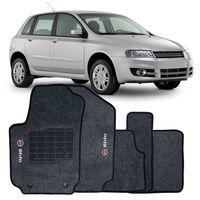 Tapete-Carpete-Fiat-Stilo-2008-2009-2010-2011-Logo-Bordado-2-Lados-Dianteiro-Grafite