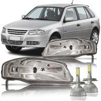 Par-Farol-Volkswagen-Gol-Parati-Saveiro-G4-2006-2007-2008-2009-com-Super-Led-H4