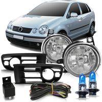 Kit-Farol-de-Milha-Auxiliar-Volkswagen-Polo-2003-2004-2005-2006-Botao-Modelo-Universal-Com-Super-Branca