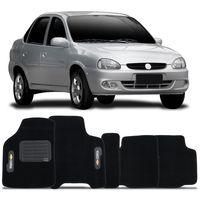 Tapete-Carpete-Preto-Chevrolet-Corsa-Classic-2003-a-2016-Vulcanizado-