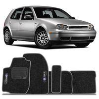 Tapete-Carpete-Preto-Volkswagen-Golf-1999-2000-2001-2002-2003-2004-2005-2006-Vulcanizado